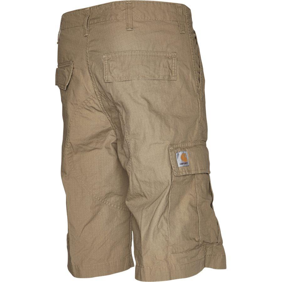 REGULAR CARGO SHORT I015999 - Regular Cargo Shorts - Shorts - Regular - LEATHER RINSED - 3
